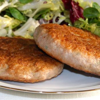 Hamburguesas de pollo